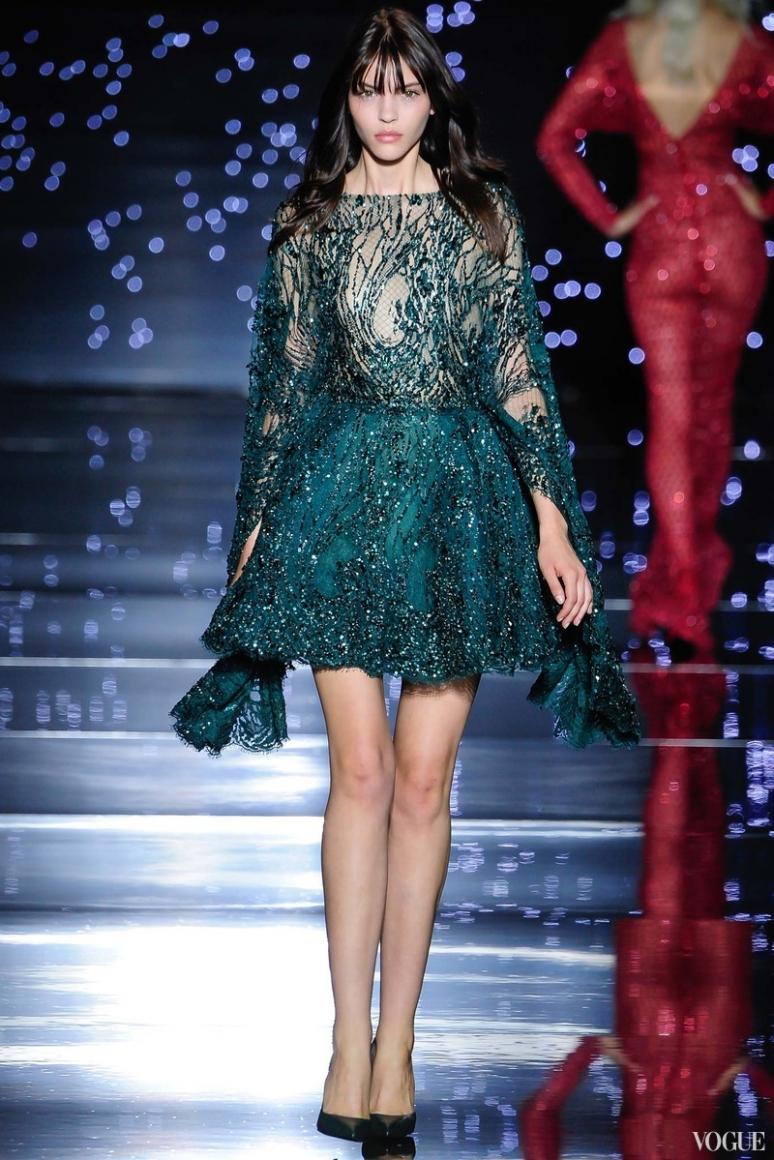 Zuhair Murad Couture осень-зима 2015/2016 #41