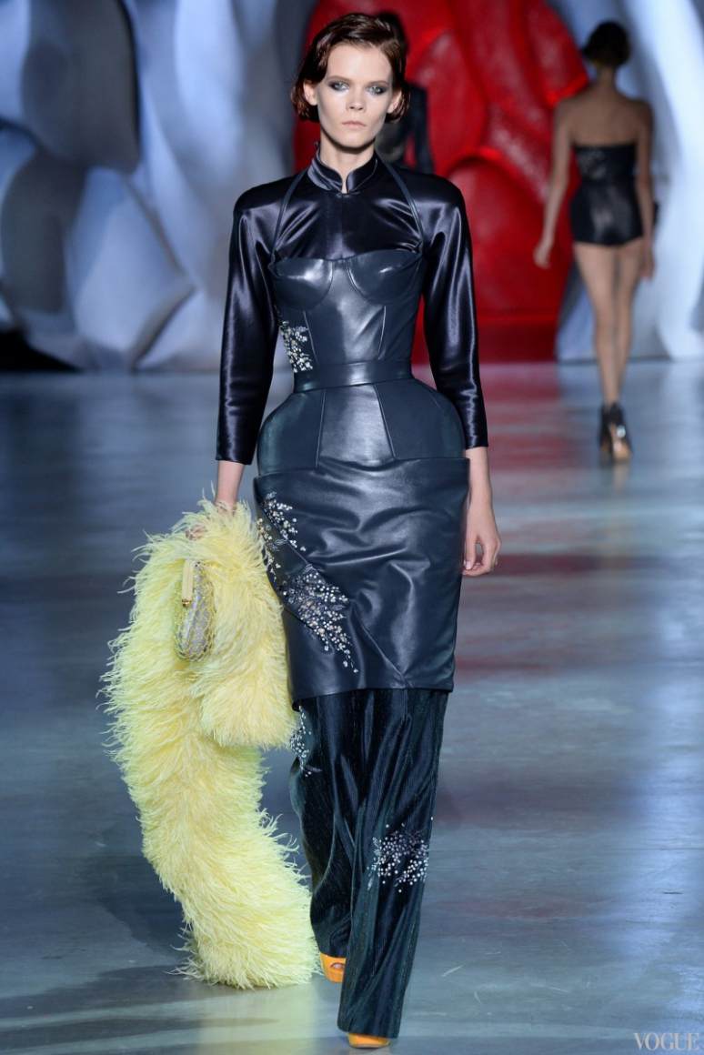 Ulyana Sergeenko Couture осень-зима 2014/2015 #31