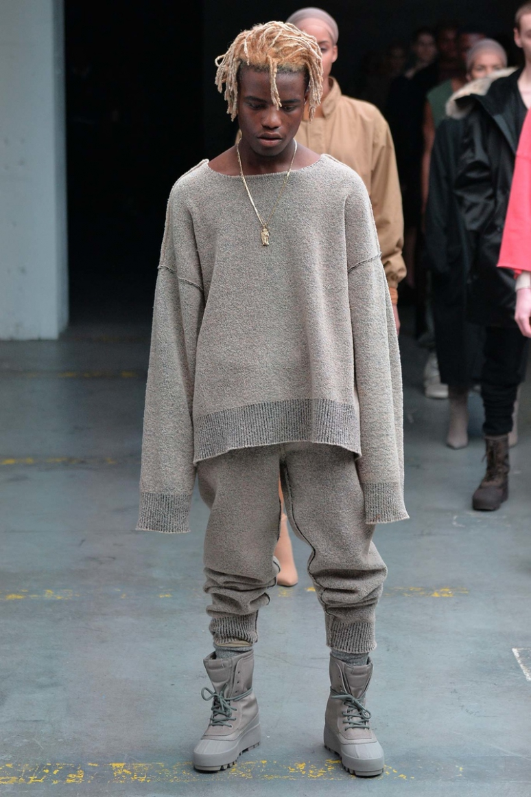 Kanye West x Adidas Originals осень-зима 2015/2016 #20