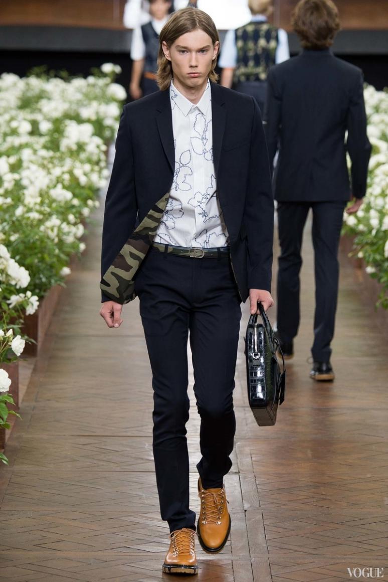 Dior Homme Menswear весна-лето 2016 #37