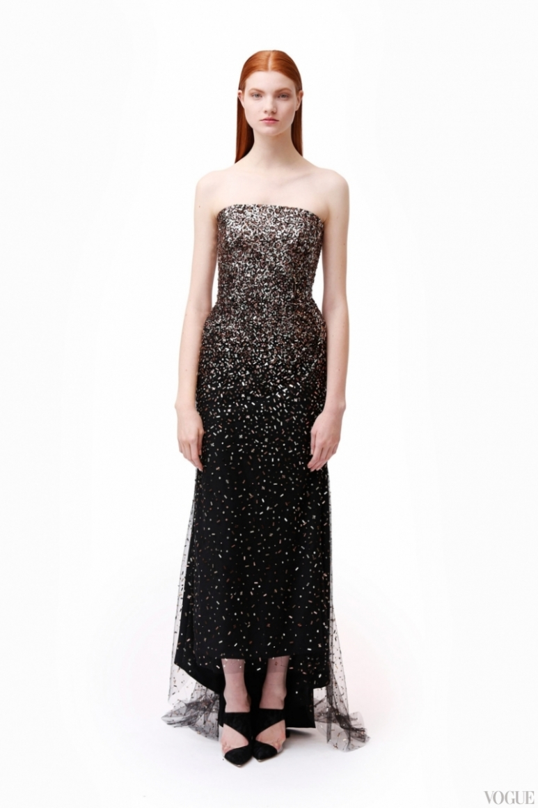 Monique Lhuillier Couture весна-лето 2013 #8