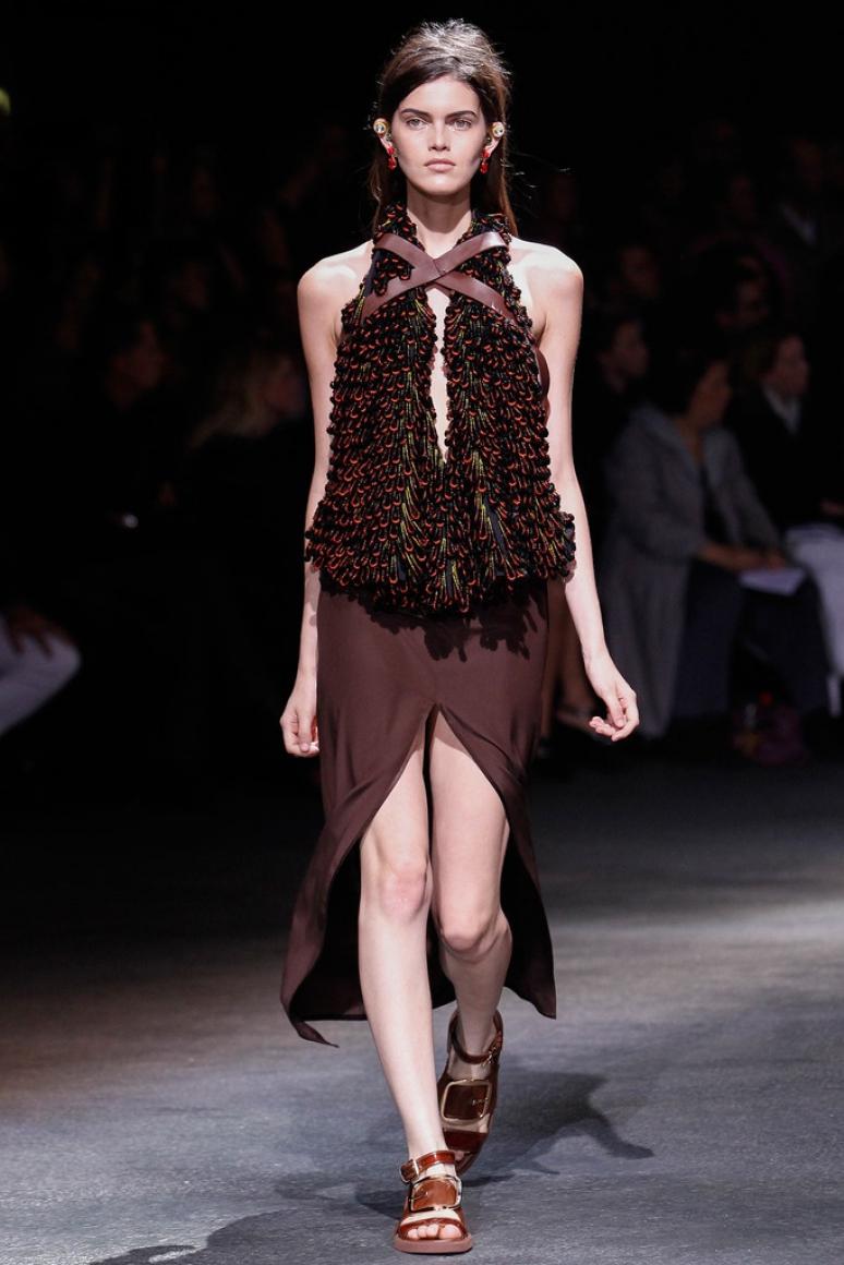 Givenchy весна-лето 2014 #22
