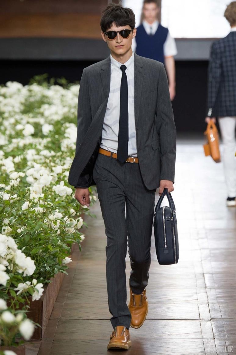 Dior Homme Menswear весна-лето 2016 #23