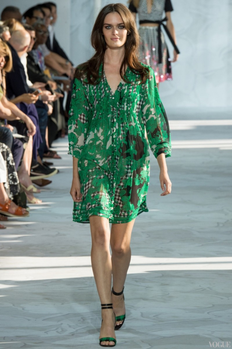 Diane Von Furstenberg весна-лето 2015 #25