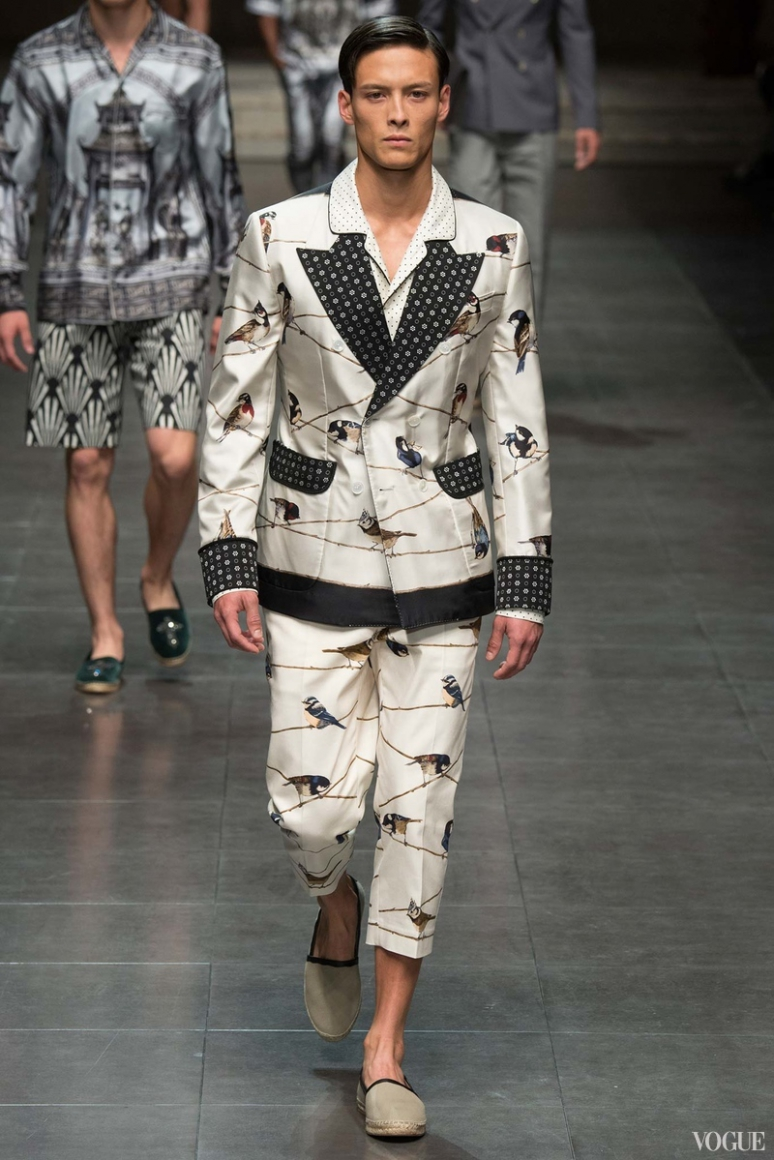 Dolce & Gabbana Menswear весна-лето 2016 #81