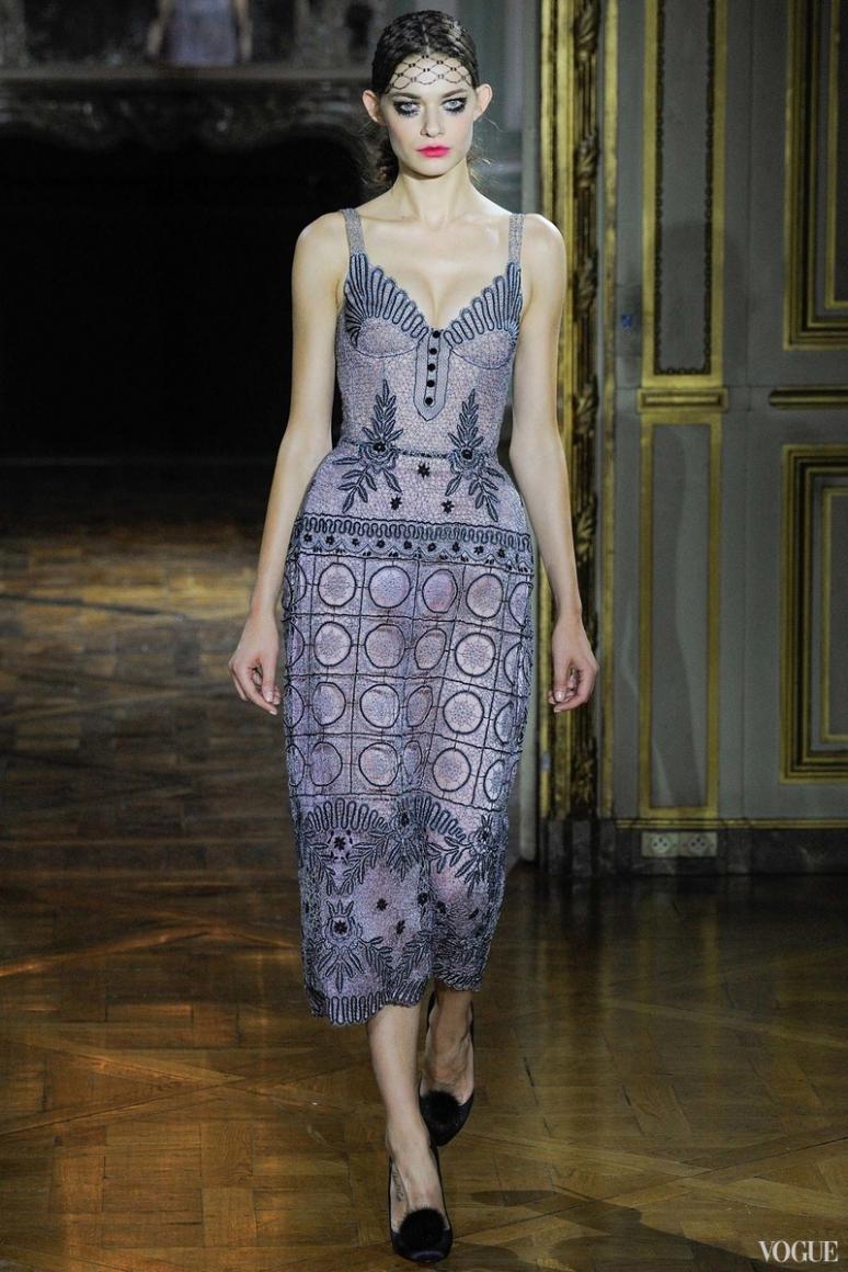 Ulyana Sergeenko Couture осень-зима 2015/2016 #31