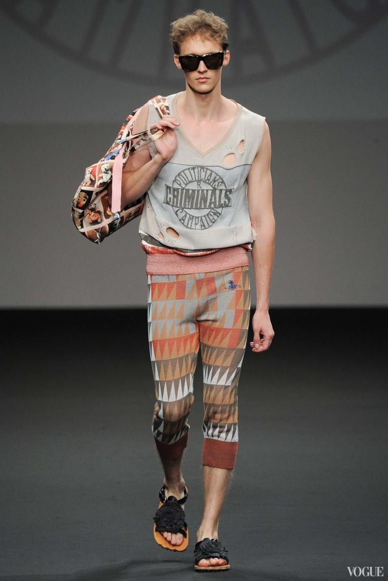 Vivienne Westwood Menswear весна-лето 2016 #37