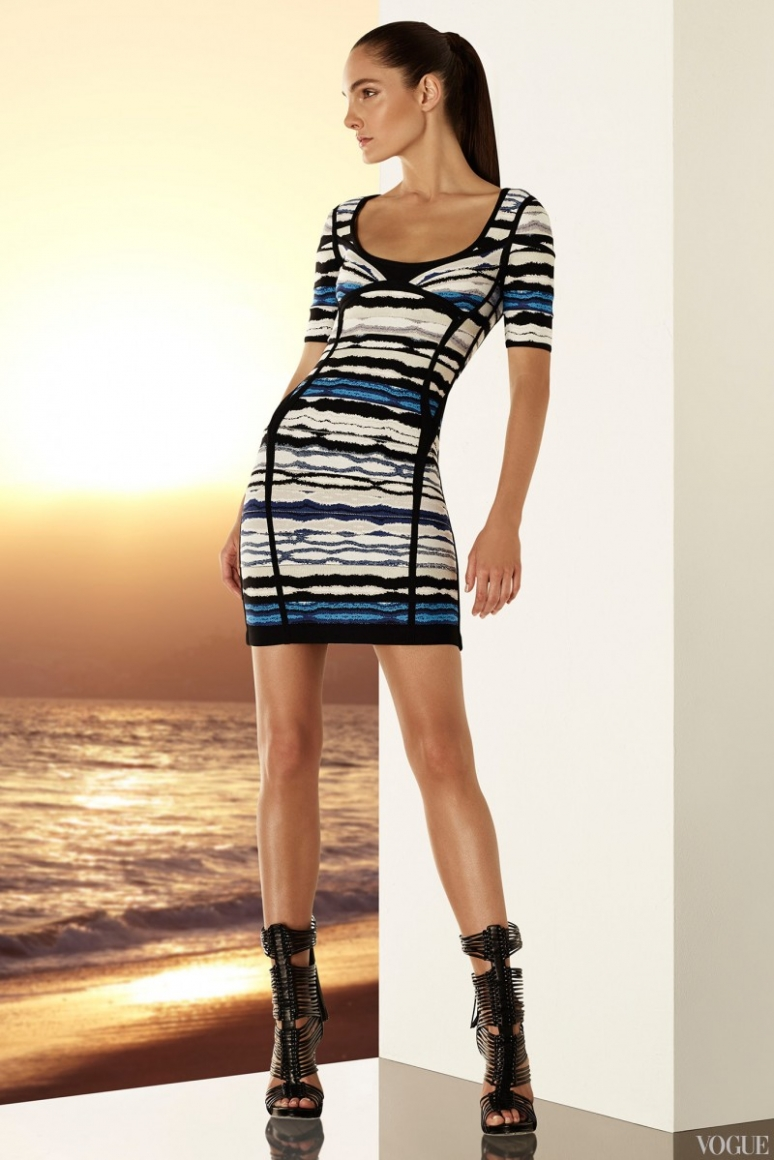 Herve Leger by Max Azria Resort 2015 #11