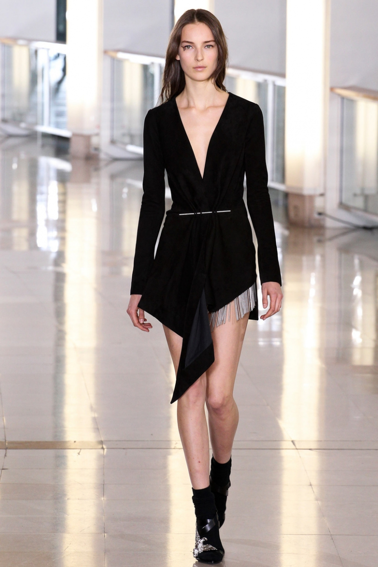 Anthony Vaccarello осень-зима 2015/2016 #4