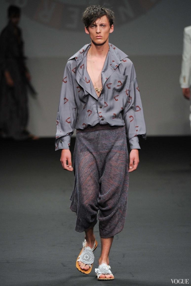 Vivienne Westwood Menswear весна-лето 2016 #7
