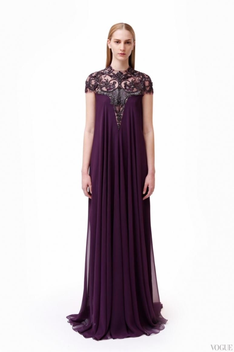 Monique Lhuillier Couture весна-лето 2013 #3