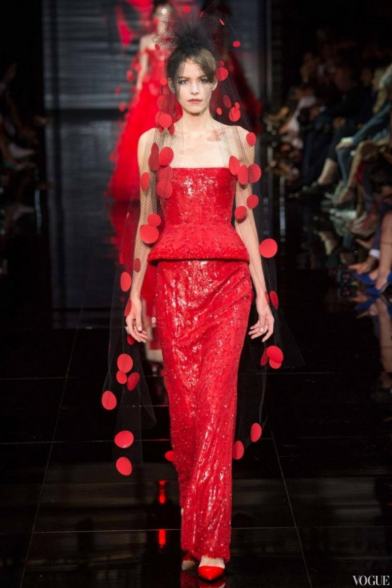 Armani Priv? Couture осень-зима 2014/2015 #7