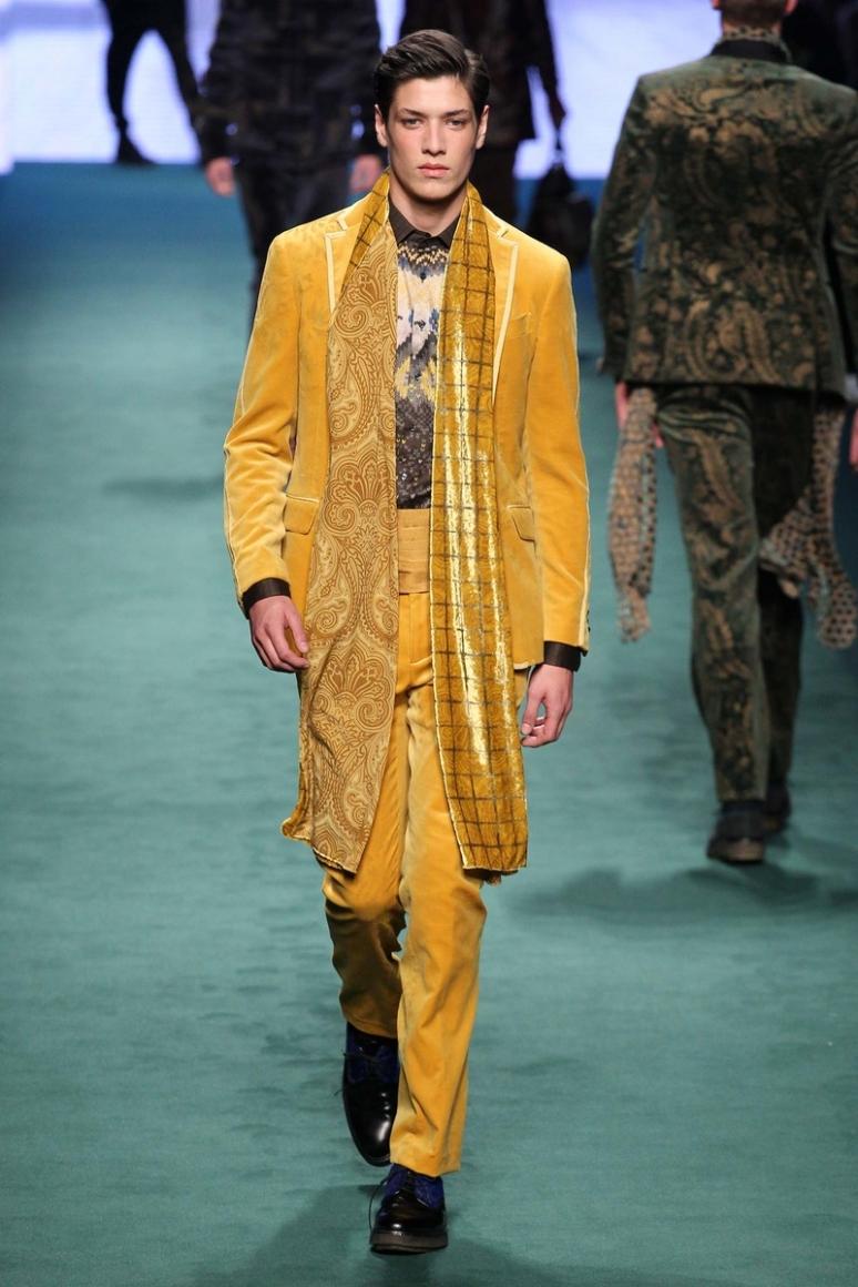 Etro Menswear осень-зима 2015/2016 #5