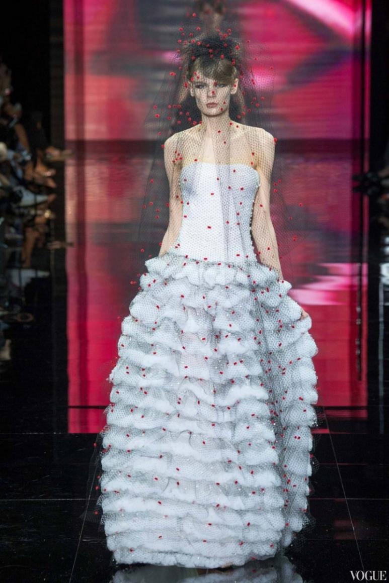 Armani Priv? Couture осень-зима 2014/2015 #69