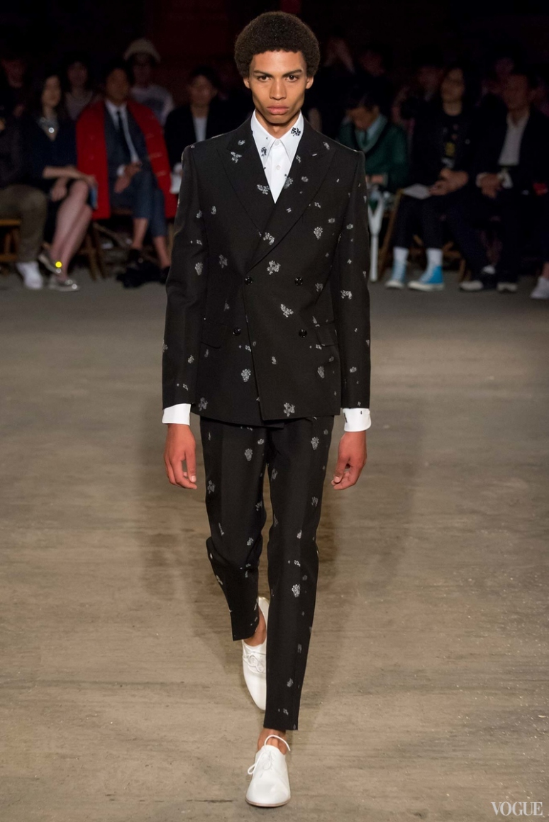 Alexander McQueen Menswear весна-лето 2016 #7