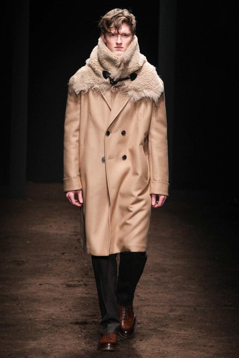 Salvatore Ferragamo Menswear осень-зима 2015/2016 #2