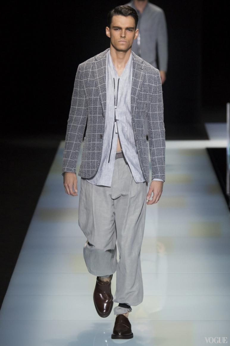 Giorgio Armani Menswear весна-лето 2016 #42