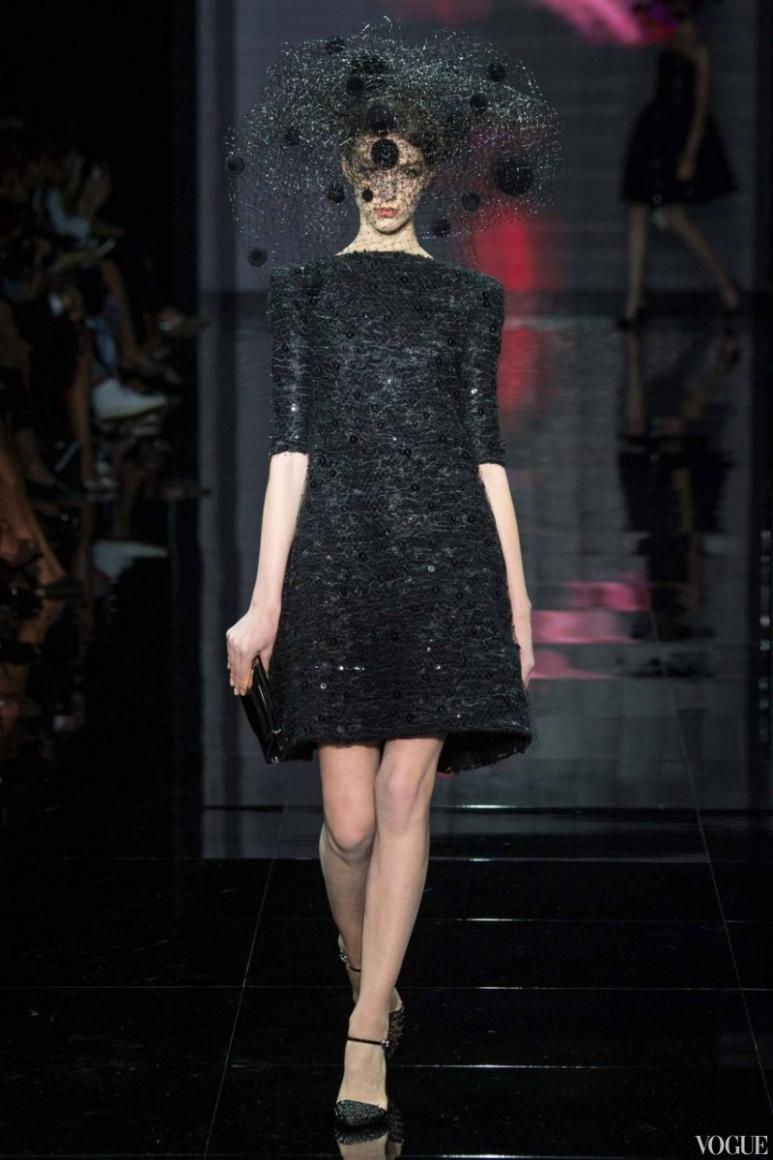 Armani Priv? Couture осень-зима 2014/2015 #23