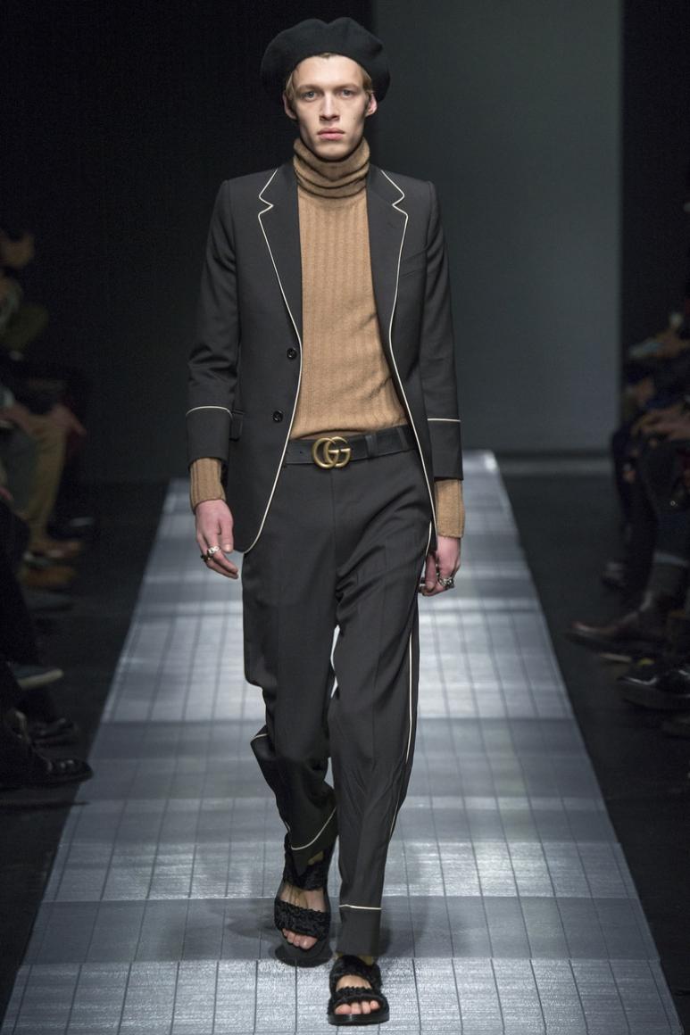 Gucci Menswear осень-зима 2015/2016 #9