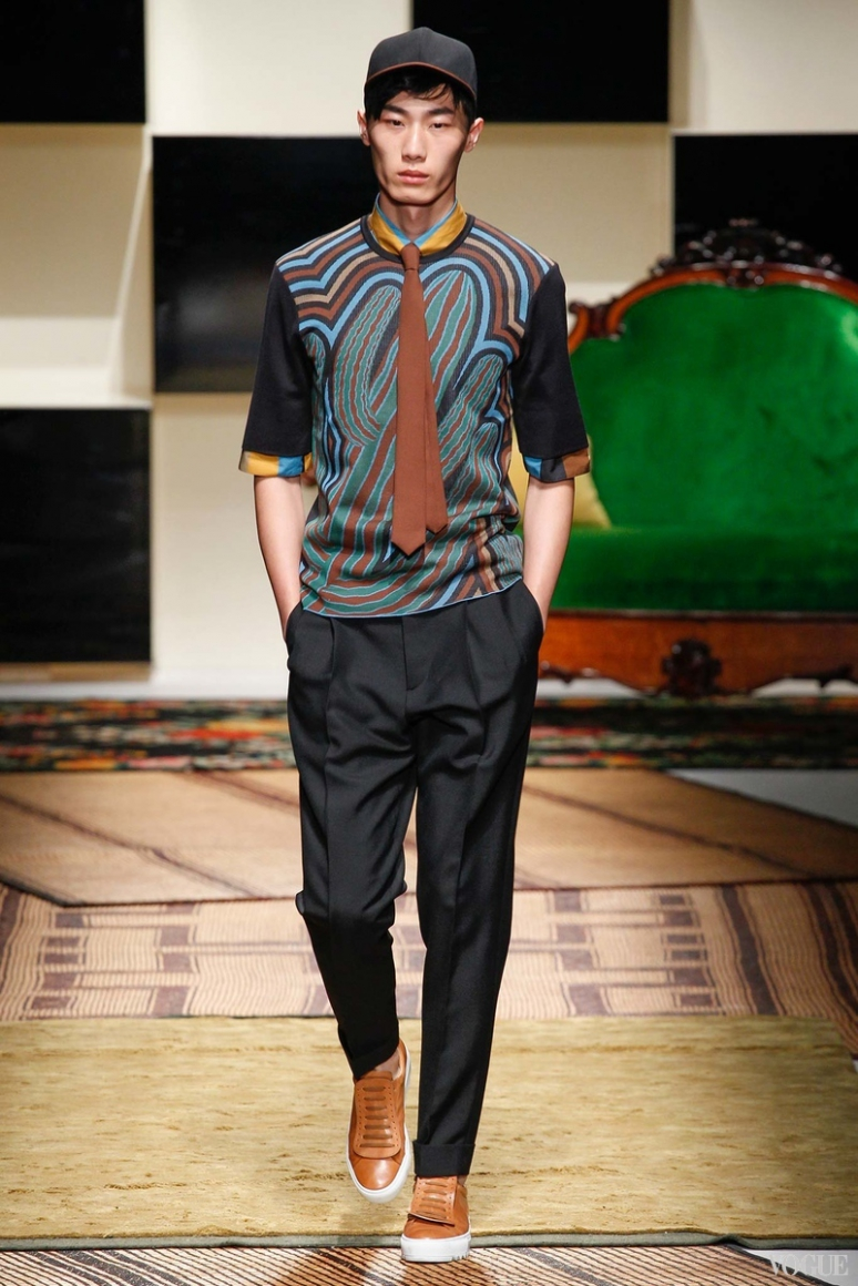 Salvatore Ferragamo Menswear весна-лето 2016 #38