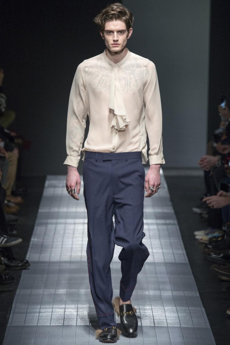 Gucci Menswear осень-зима 2015/2016 #36