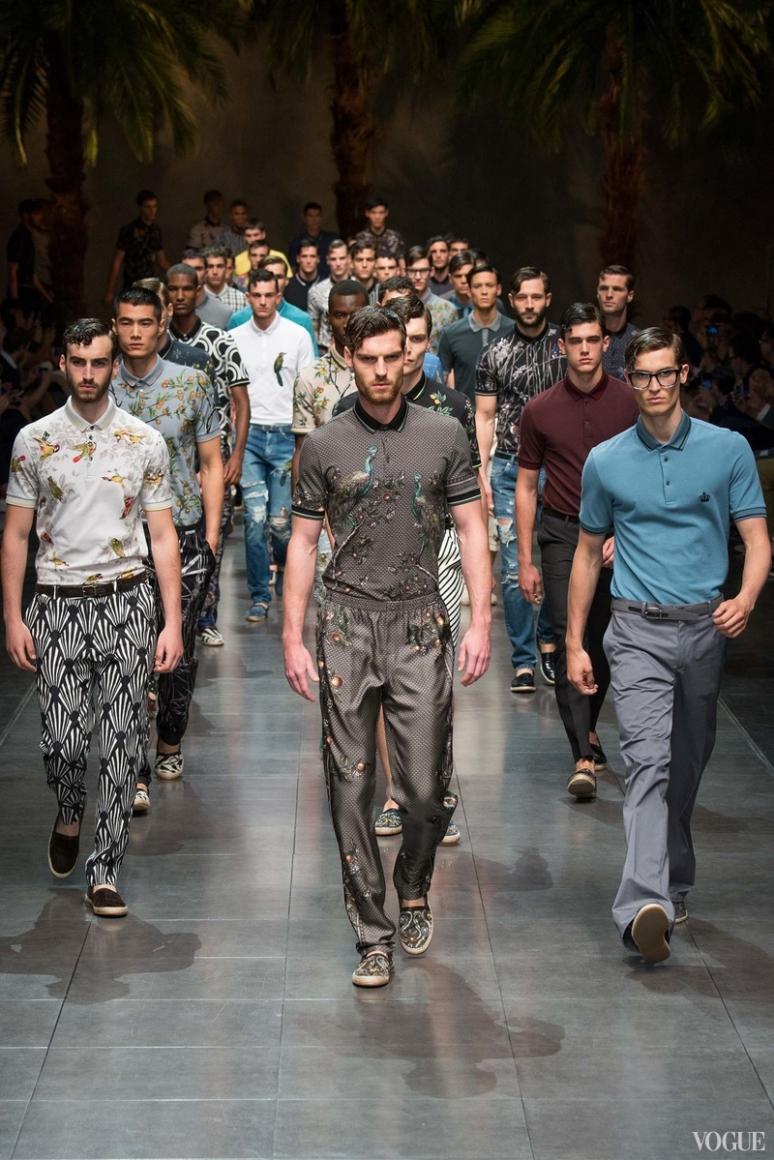 Dolce & Gabbana Menswear весна-лето 2016 #3