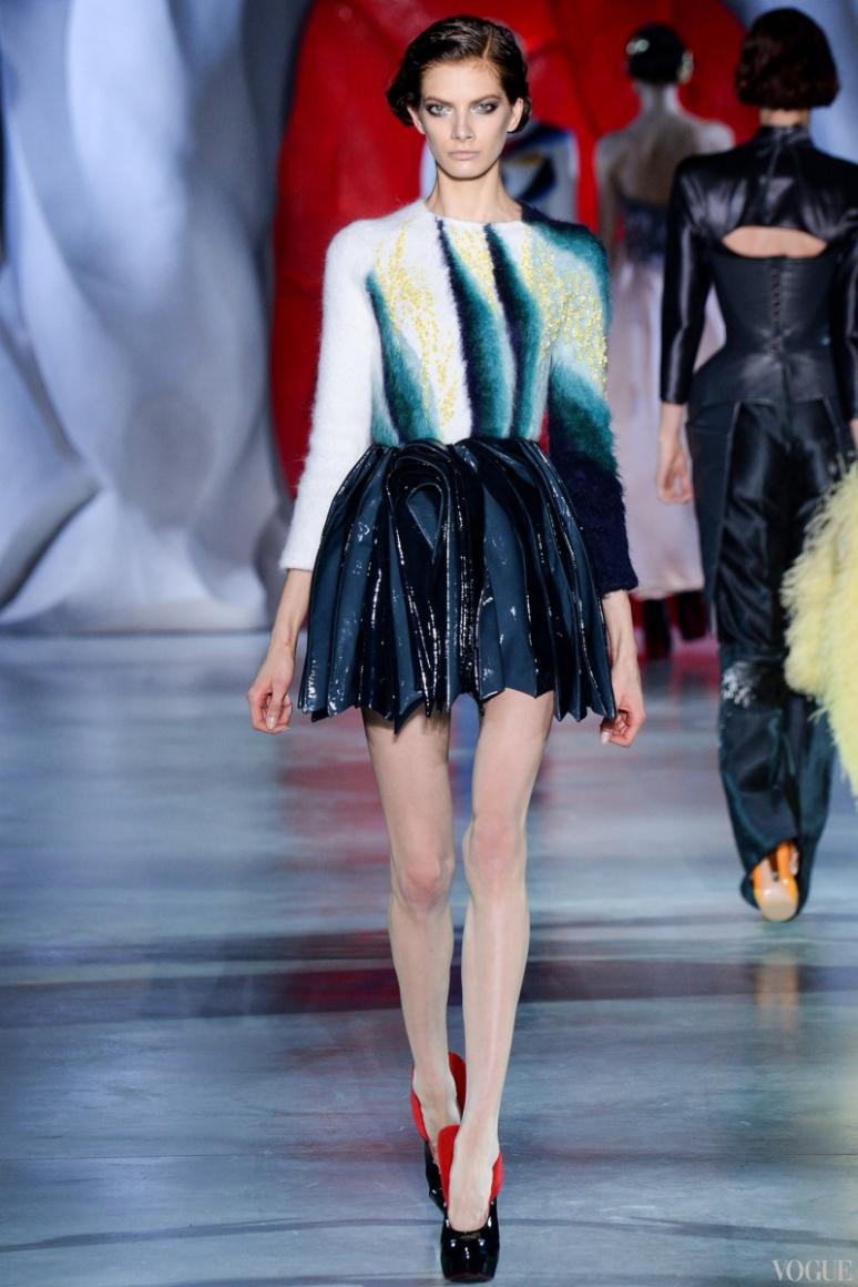 Ulyana Sergeenko Couture осень-зима 2014/2015 #26