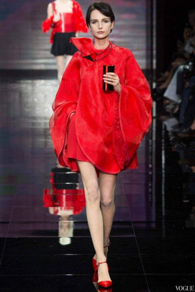 Armani Priv? Couture осень-зима 2014/2015 #32