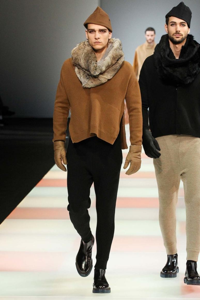 Emporio Armani Menswear осень-зима 2015/2016 #56
