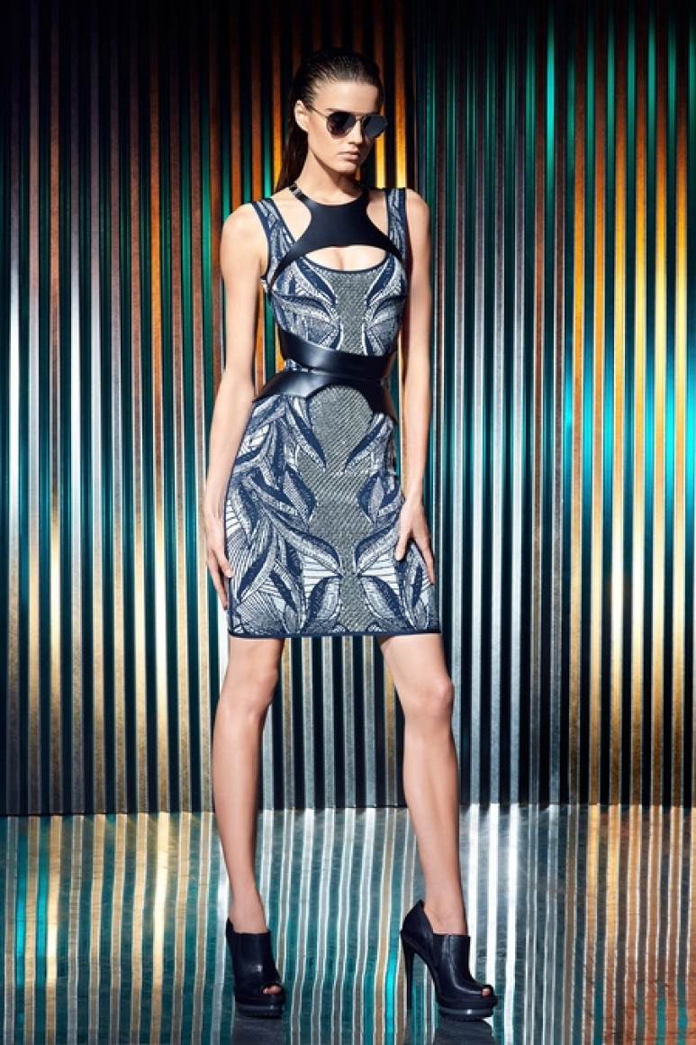 Herve Leger by Max Azria Resort 2014 #22