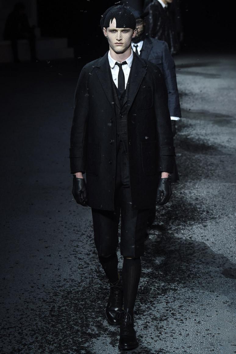 Thom Browne Menswear осень-зима 2015/2016 #8