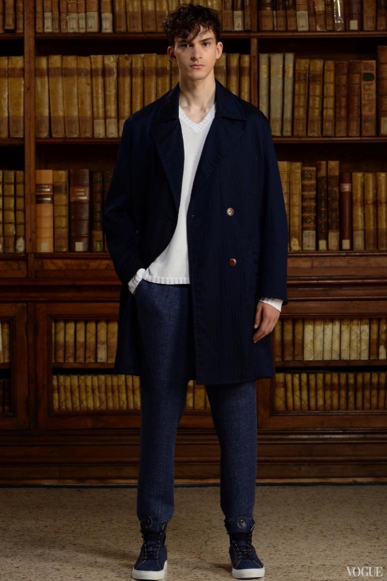 Trussardi Menswear весна-лето 2016 #1
