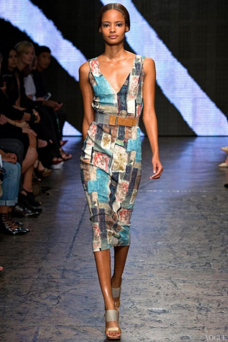 Donna Karan весна-лето 2015 #20