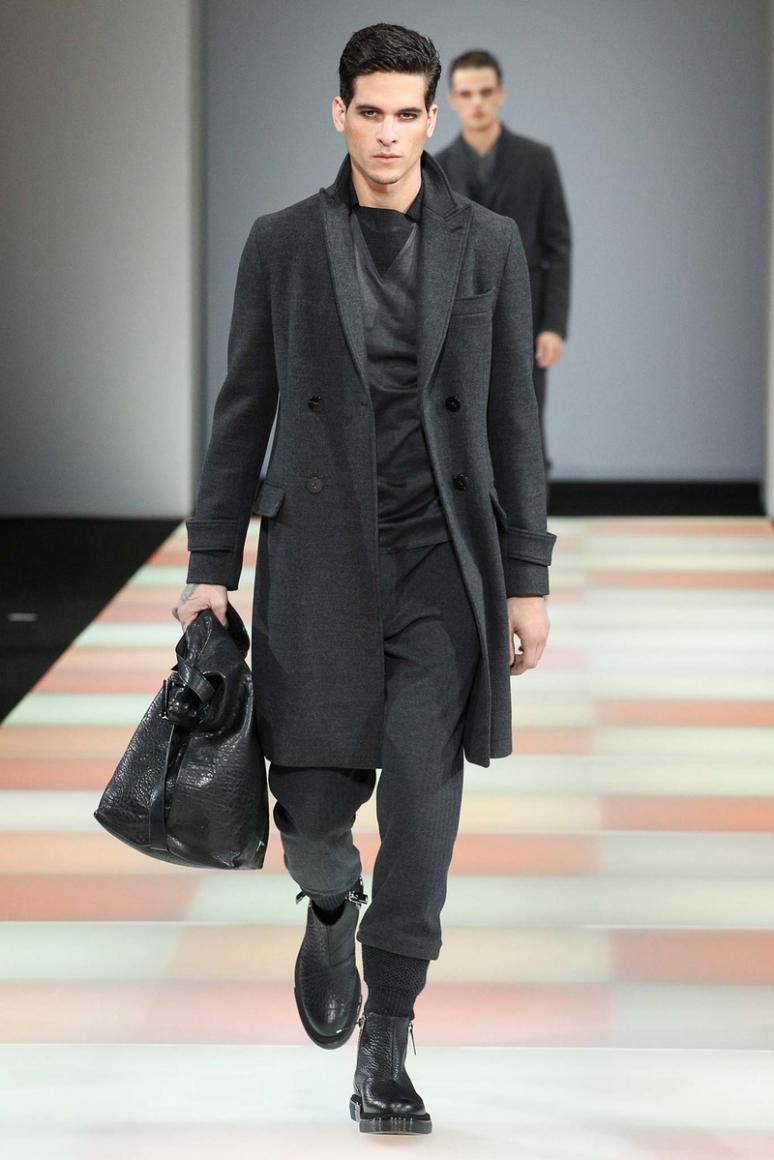 Emporio Armani Menswear осень-зима 2015/2016 #10