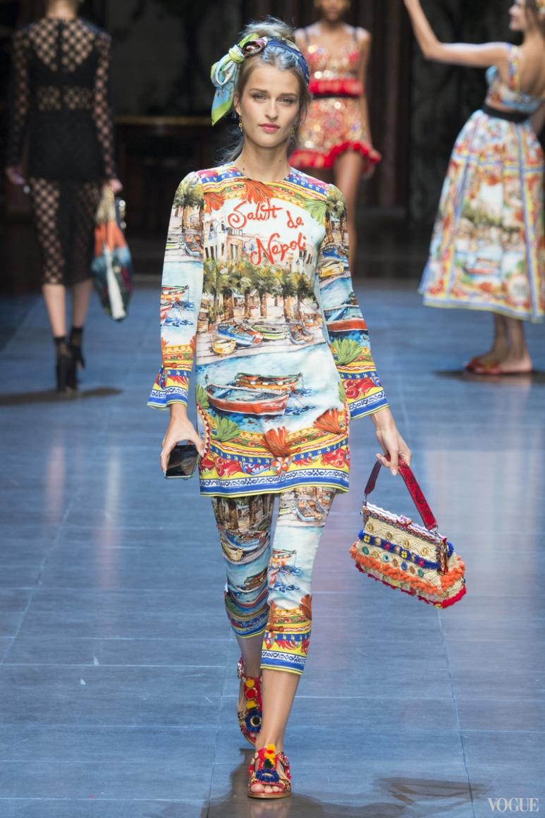 Dolce & Gabbana весна-лето 2016 #21