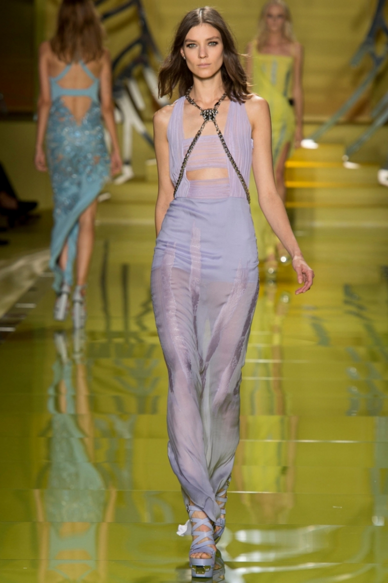 Versace весна-лето 2014 #5
