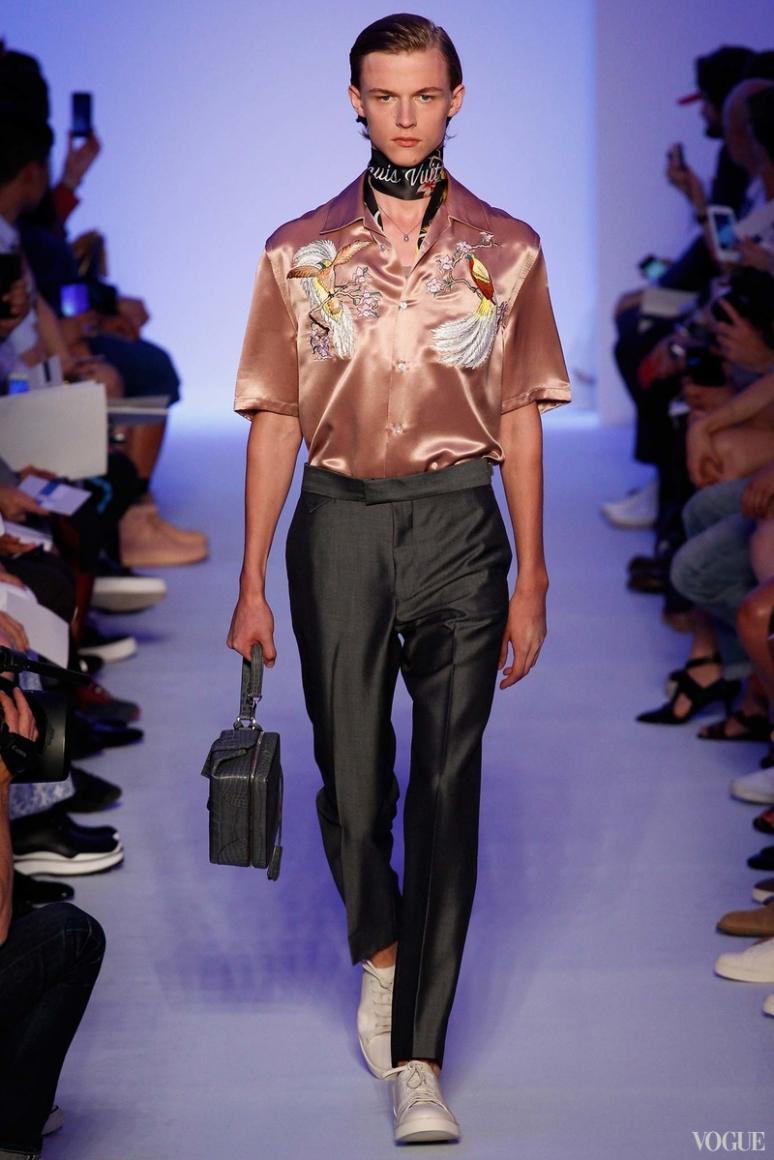 Louis Vuitton Menswear весна-лето 2016 #4