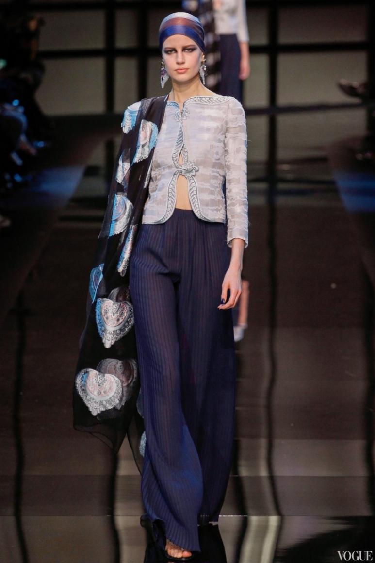 Armani Priv? Couture весна-лето 2014 #53