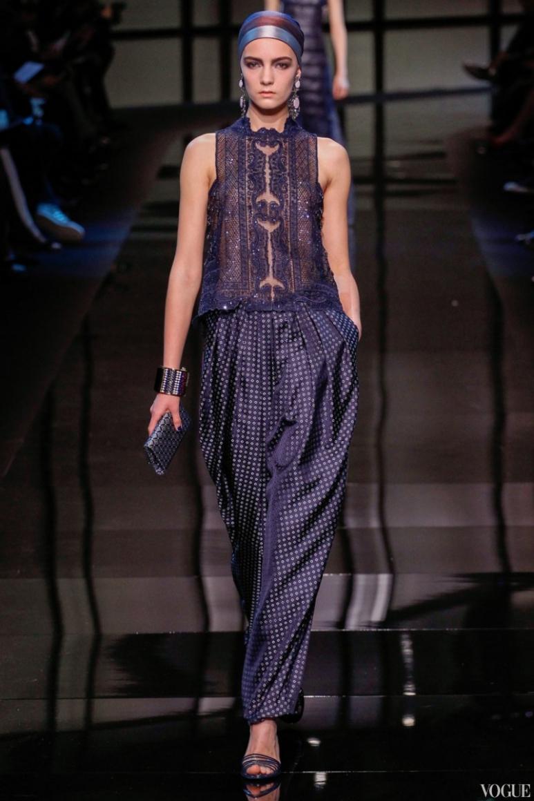 Armani Priv? Couture весна-лето 2014 #28