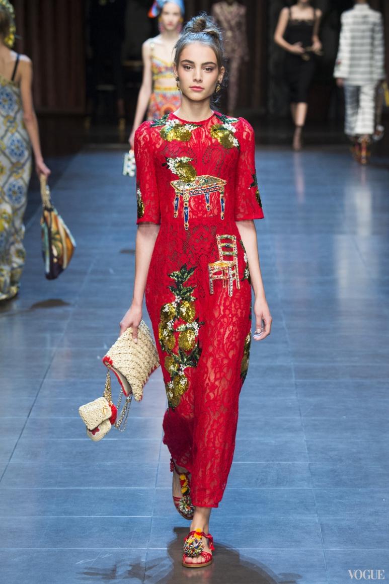 Dolce & Gabbana весна-лето 2016 #40