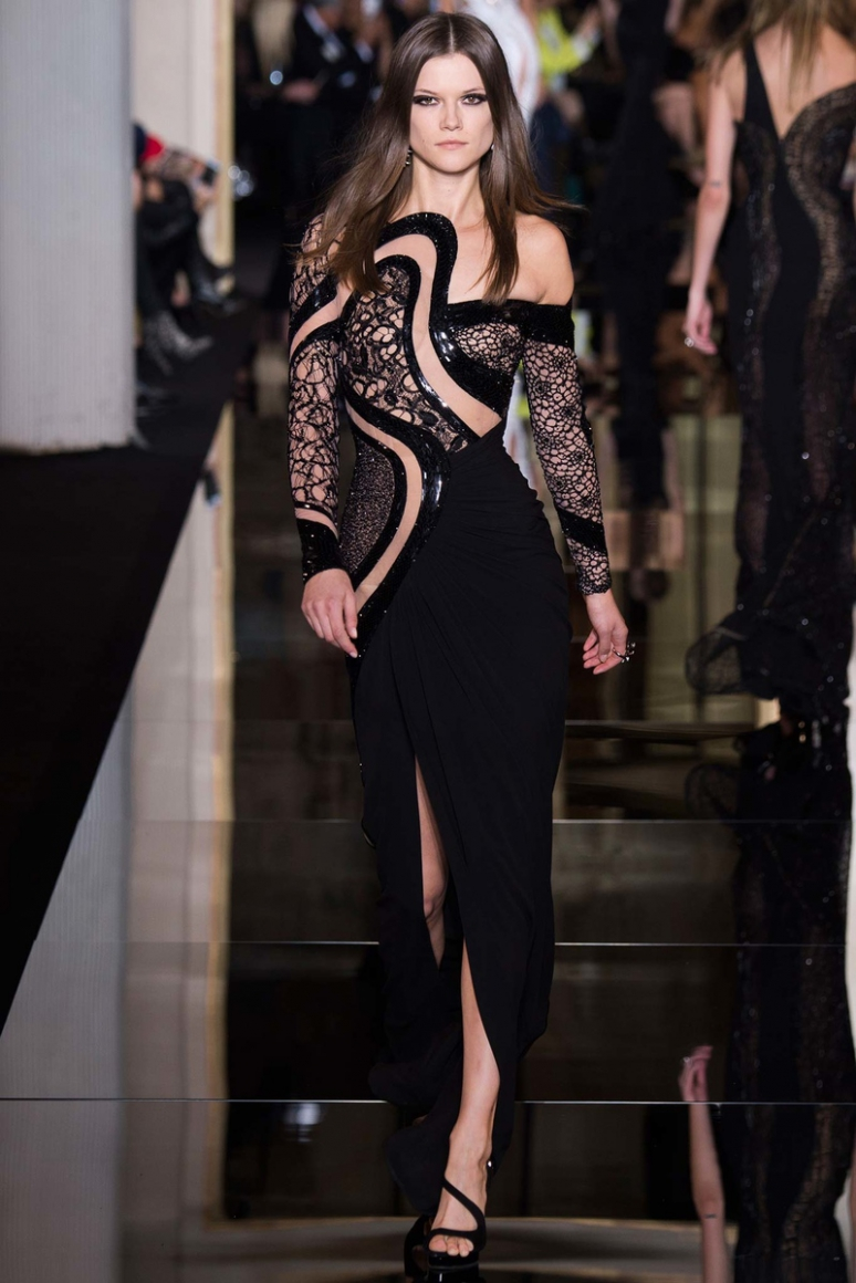 Atelier Versace Couture весна-лето 2015 #10