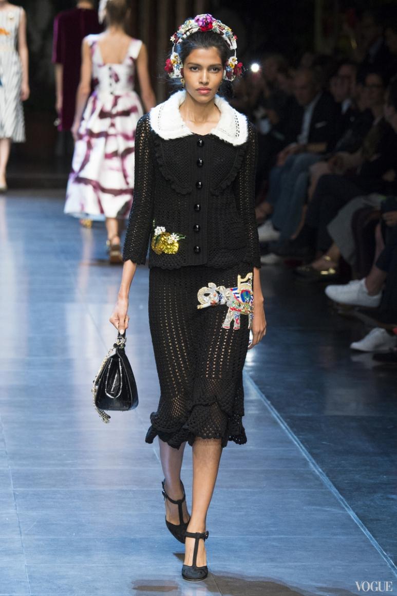 Dolce & Gabbana весна-лето 2016 #31