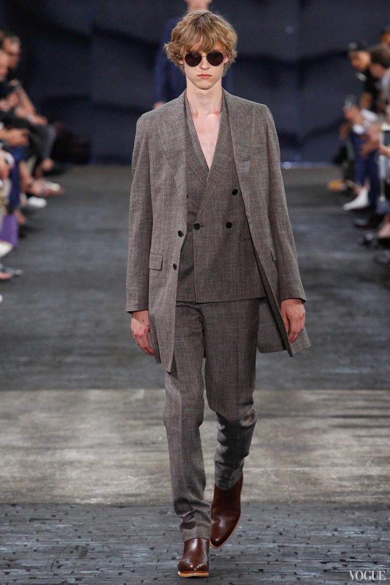 Maison Martin Margiela Menswear весна-лето 2016 #17