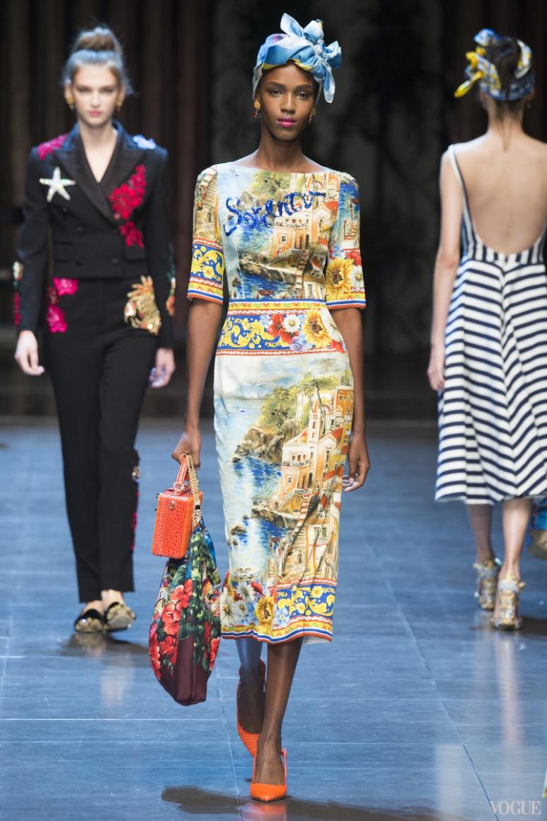 Dolce & Gabbana весна-лето 2016 #26