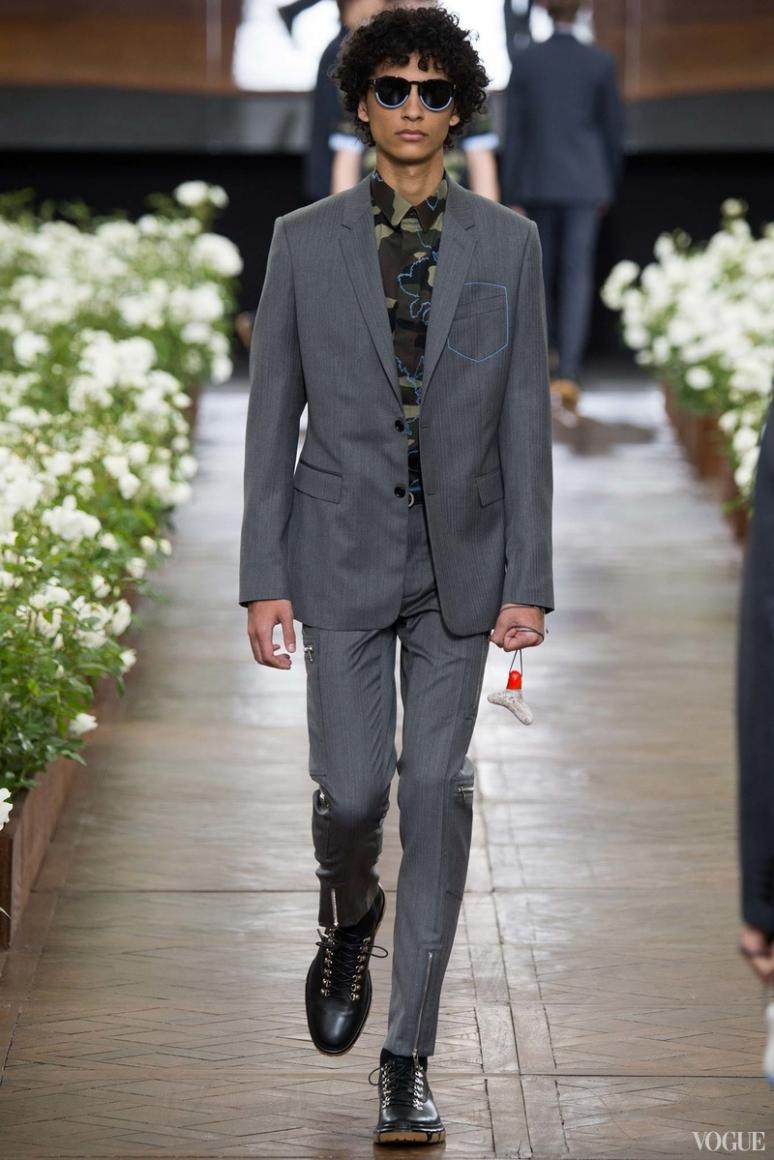 Dior Homme Menswear весна-лето 2016 #40