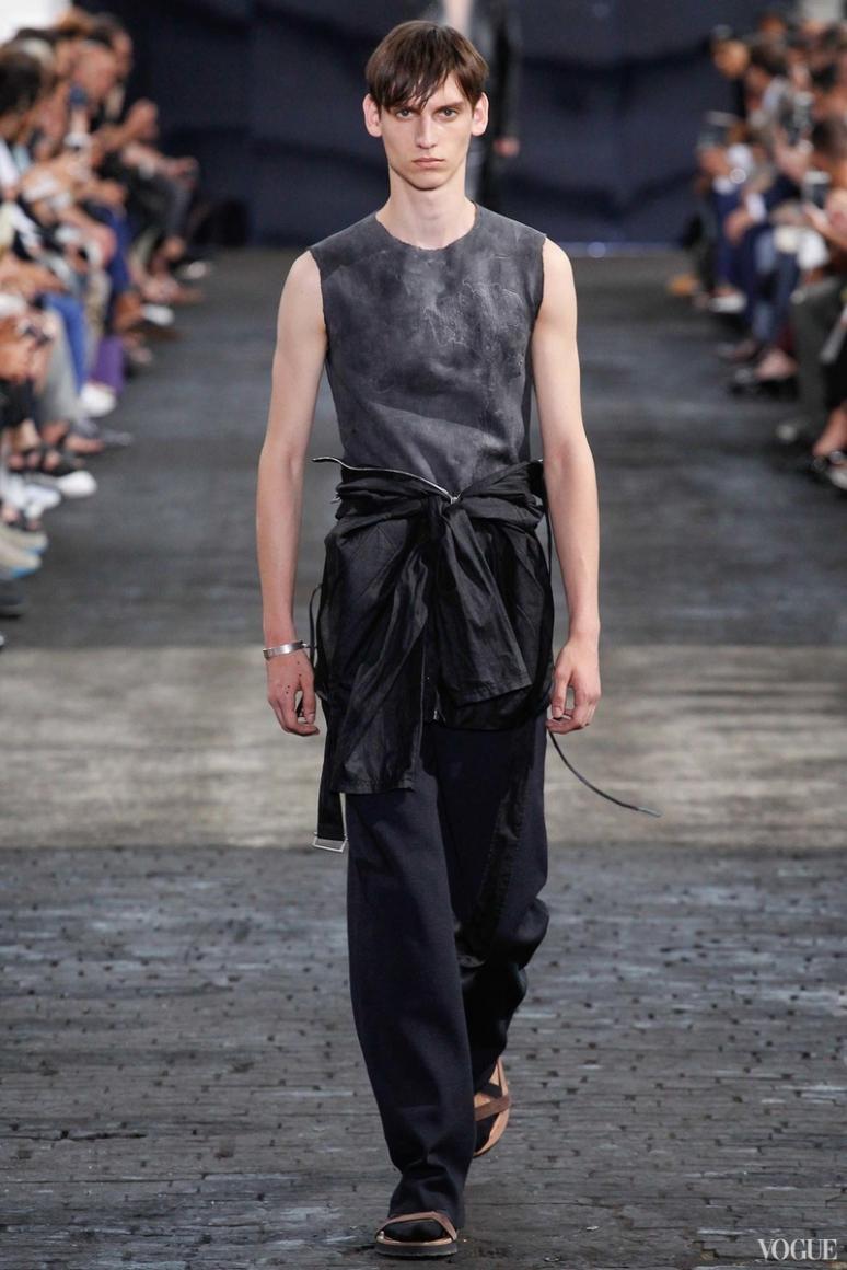 Maison Martin Margiela Menswear весна-лето 2016 #25