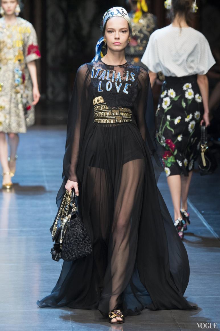 Dolce & Gabbana весна-лето 2016 #86