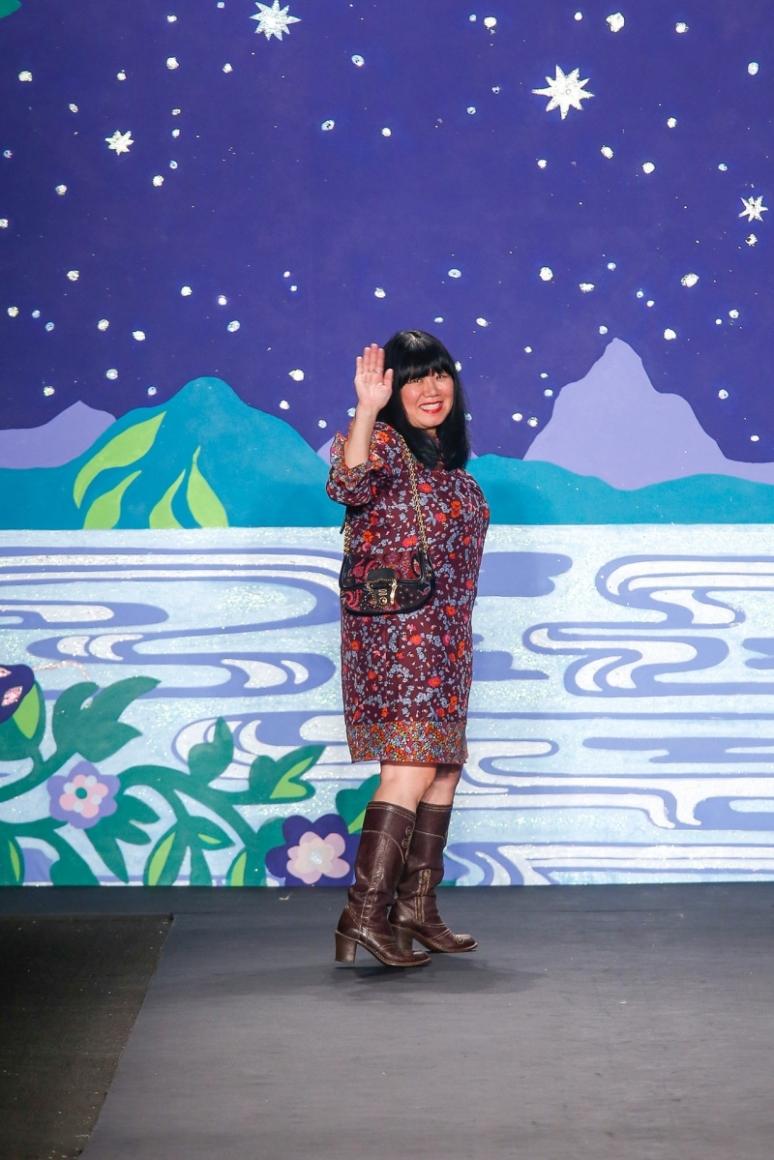 Anna Sui весна-лето 2014 #1