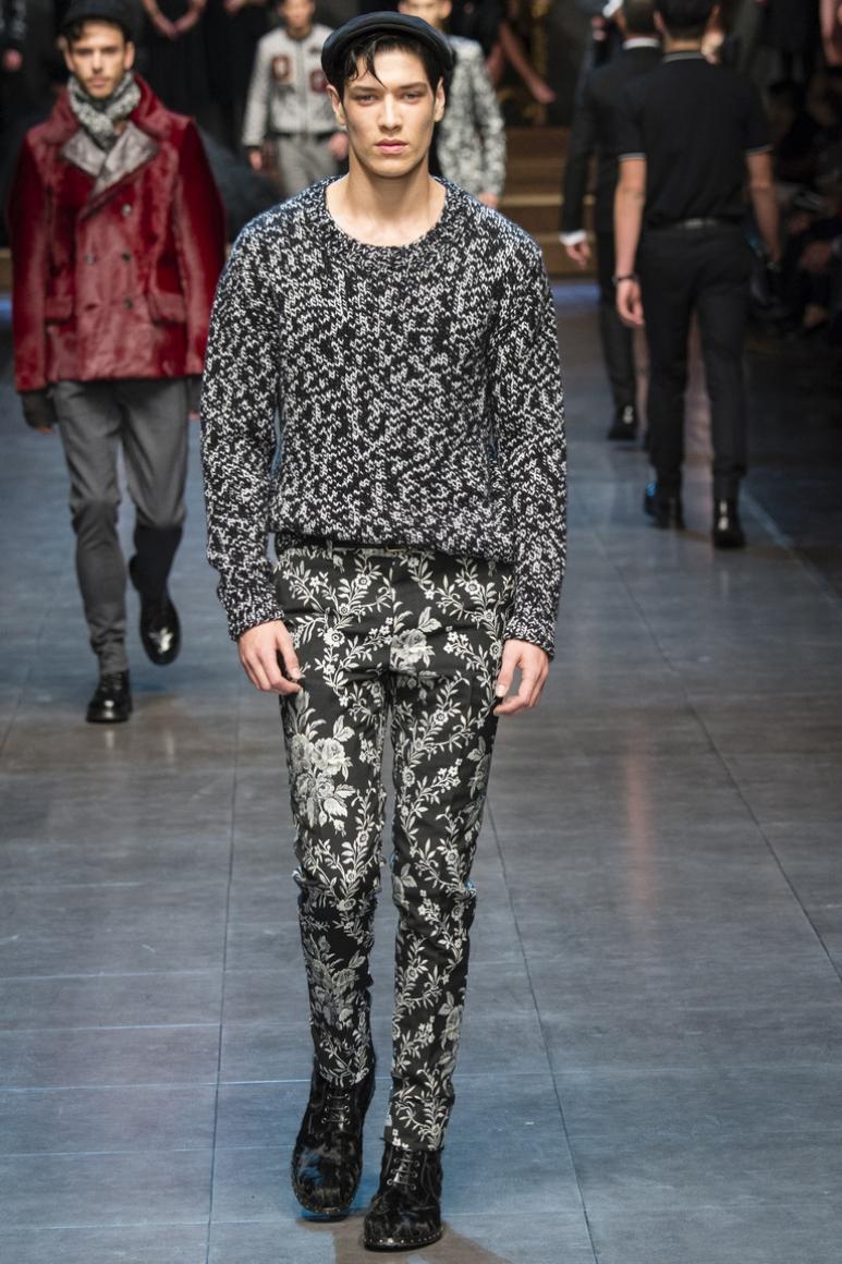 Dolce & Gabbana Menswear осень-зима 2015/2016 #52