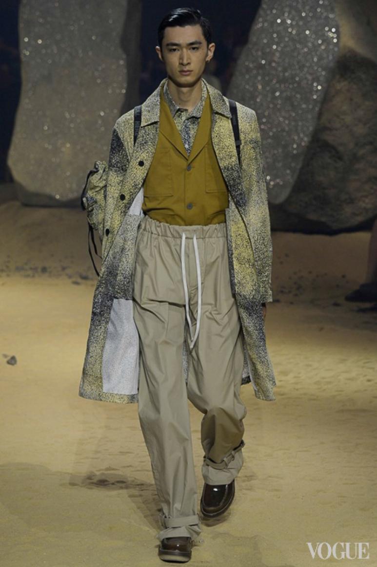 Kenzo Menswear весна-лето 2016 #29